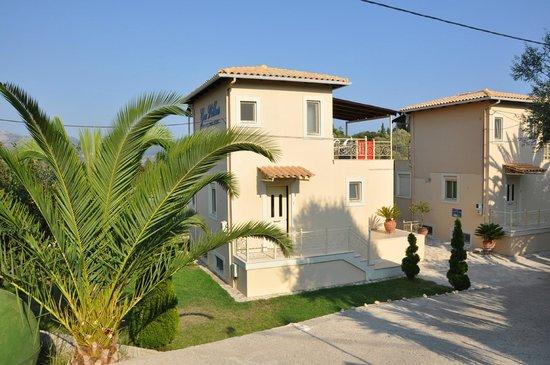Gea Villas Λευκαδα: апартаменты и сад