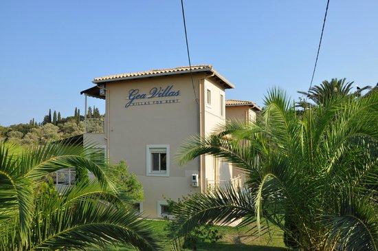 Gea Villas Lefkada: апартаменты и сад