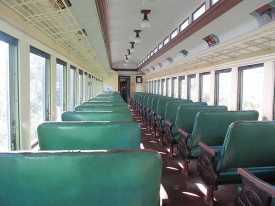 Berkshire Scenic Railway Museum : Train inside