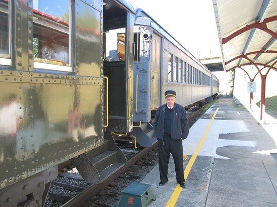 Berkshire Scenic Railway Museum: Railtrain station in Stockbridge