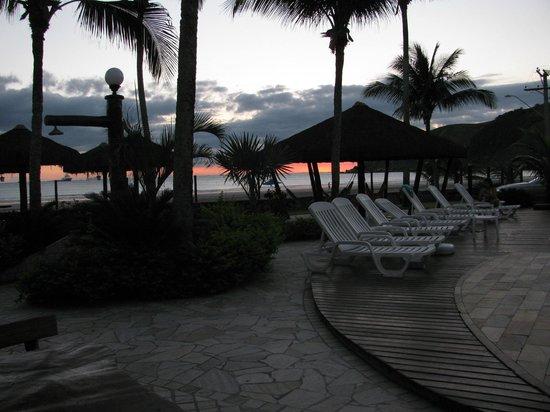 Valentina Praia Hotel : Vista do restaurante...