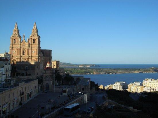 Maritim Antonine Hotel & Spa : vista dalla terrazza
