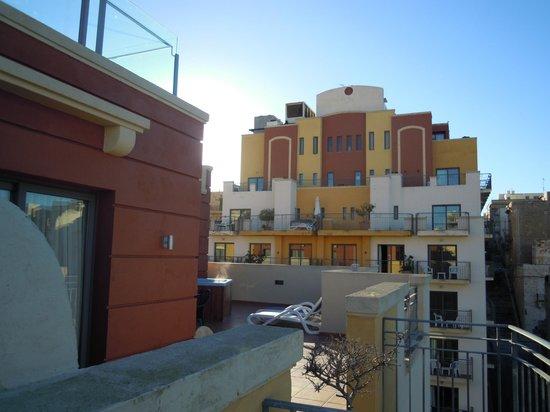 Maritim Antonine Hotel & Spa : terrazza suite