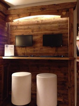 Chalet Fiocco di Neve: Angolo internet e wi-fi