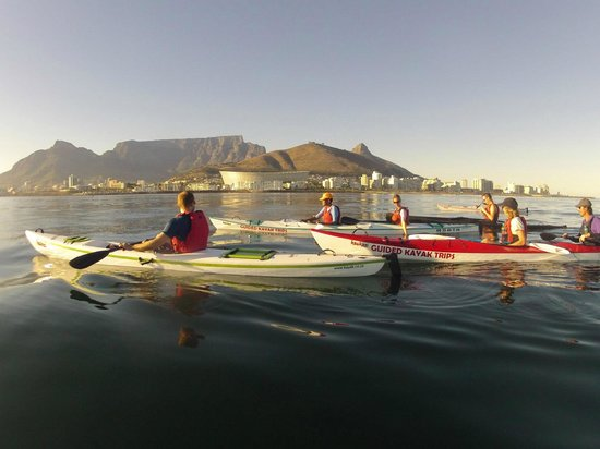 Kaskazi Kayaks: Perfect view of Cape Town
