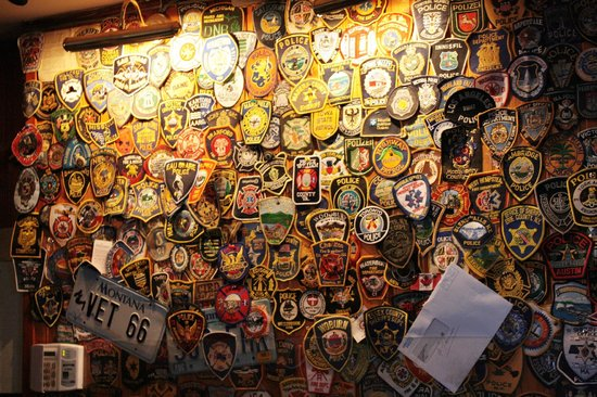 Galway Tour Company : Police badges from all over the world!