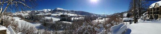 Hotel des Chazes : vue panoramique