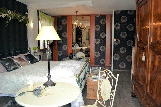 La Renaudiere : suite  hortensia