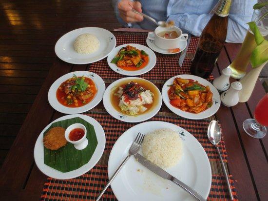 Aonang Phu Petra Resort, Krabi Thailand: Yummie food