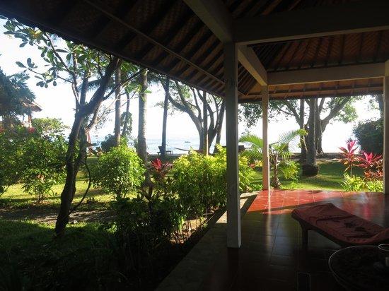Bali Mandala Resort: Blick aus dem Zimmer