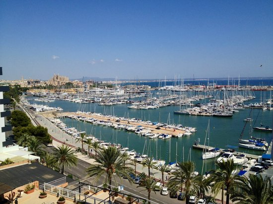 Hotel Palma Bellver By Melia : Beautiful view from our balcony.