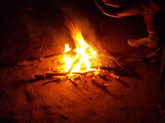 Aum Health Resort: bonne fire