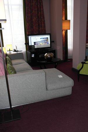 Sofitel Legend The Grand Amsterdam: Living area