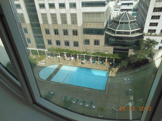 Holiday Inn Bangkok Silom : Vue du 14° étage