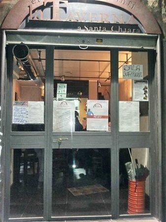 La Taverna a Santa Chiara: la taverna santa chiara