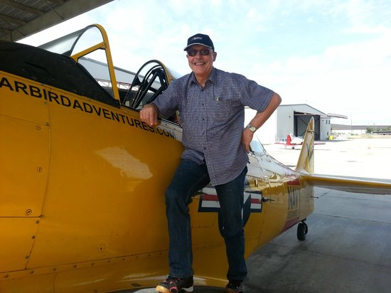 Warbird Adventures: see the smile after the flight!!!!