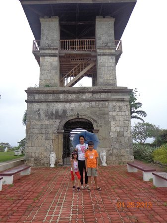 Aguinid Falls: bell tower