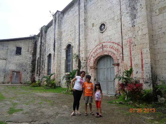 Aguinid Falls: Century Old Church