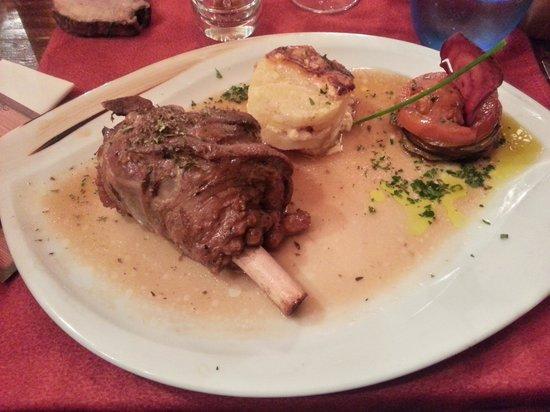 La Sachette : My dinner