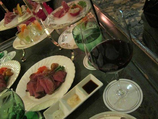Le Jardin: ワインいっぱい飲んじゃいました