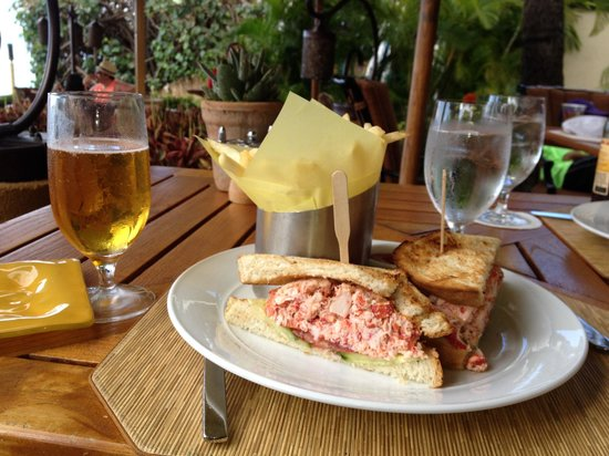 Ferraro's Bar e Ristorante: Lobster salad sandwich