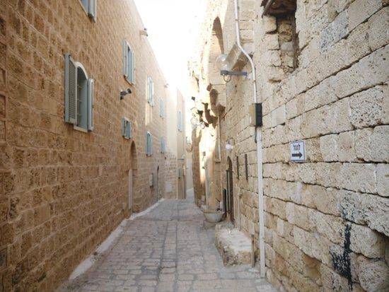 Jaffa Old City : Одна из улочек Яффо