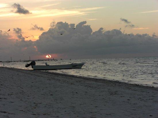 Xaloc Resort: Sonnenuntergang
