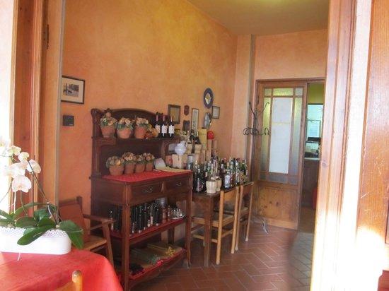 Hotel Ristorante Bellavista Impruneta : ingresso alla sala colazioni