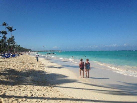 Grand Palladium Punta Cana Resort & Spa : Strand