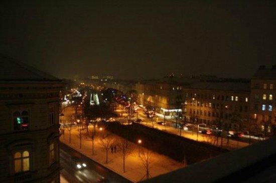 A&O Wien Stadthalle: Вид из мансардного окна