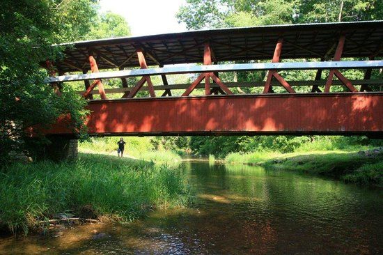 Covered Bridge loop: Bedford Bridges!