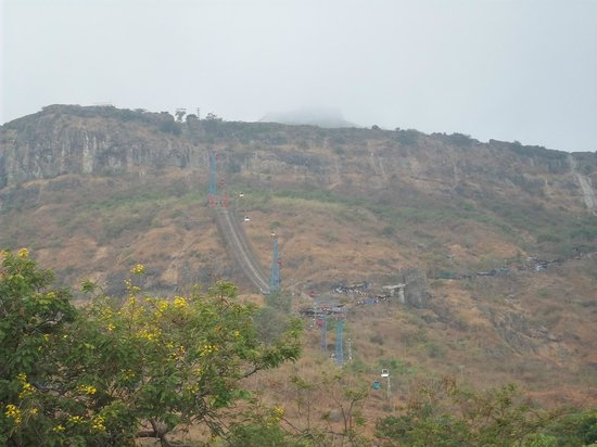 Hotel Champaner: view outside the hotel campus