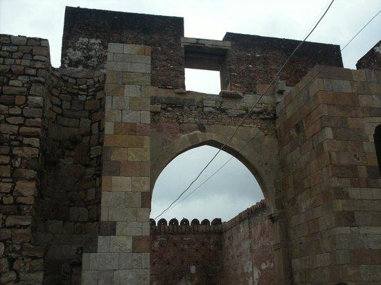 Champaner-Pavagadh Archaeological Park: gate