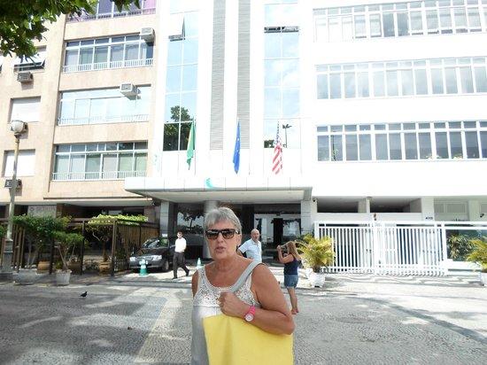 Orla Copacabana Hotel : Vista del hotes