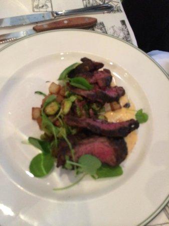 Bayona : Grilled Hanger Steak