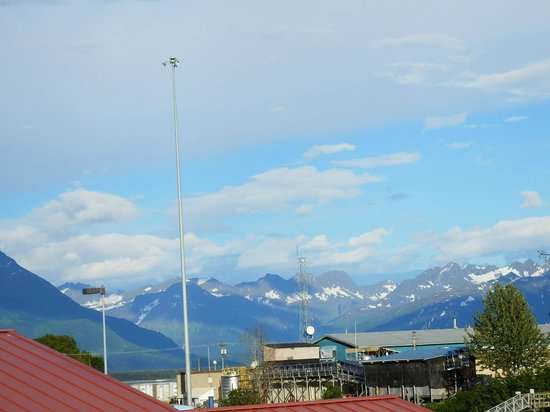 BEST WESTERN Valdez Harbor Inn: View From Balcony