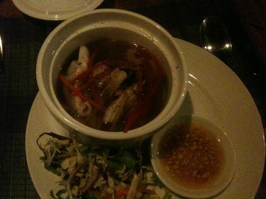 Ancarine Beach Resort: I love this one the most! It is squid boiling with chillies, gingers.