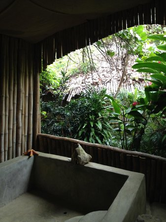 Great Huts : Our Hut and Bath