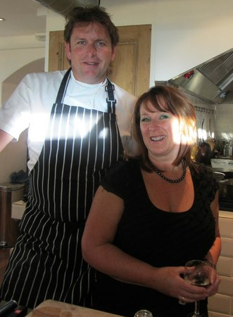 Food at 52: My first visit in 2012 - a day with James Martin!