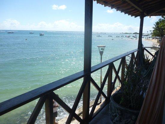 Pousada Tranquila: Vista desde el balcón del primer piso