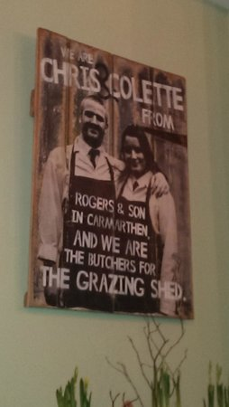 The Grazing Shed: Advertising the source of meat