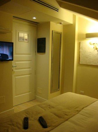 Hotel 900 : Camera mansardata, particolare