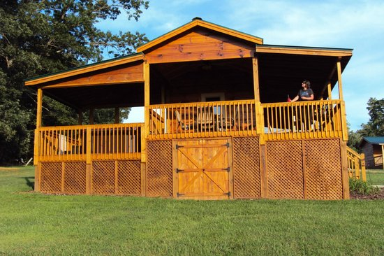 Copperhead Lodge: Huge Deck