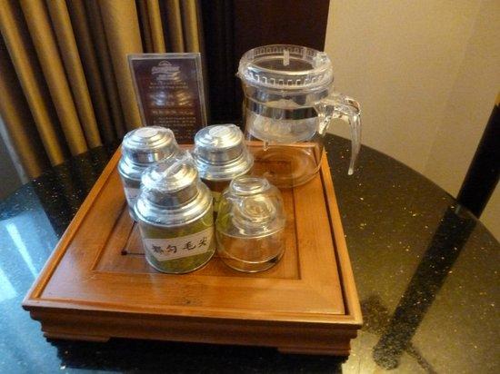 Howard Johnson Plaza Guiyang : China tea in room!