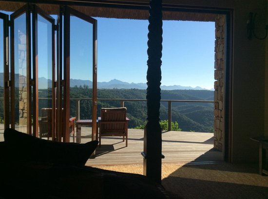 Tamodi Lodge : View from bedroom