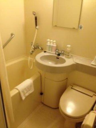 Hakata Green Hotel Tenjin: 浴室