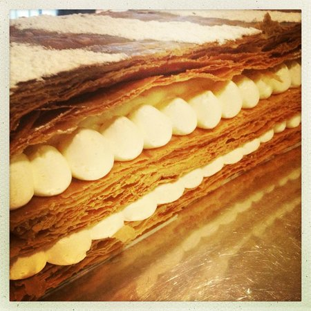 Le Bistrot d'a Cote Flaubert : 1000 feuilles à la vanille quand tu nous tiens !!!!