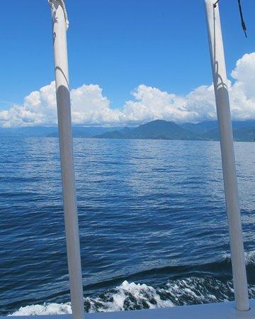 Pousada Picinguaba: On the boat