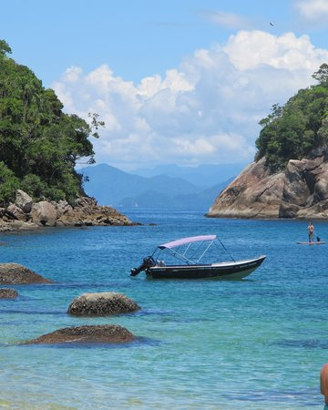 Pousada Picinguaba: First stop on a day tour by boat