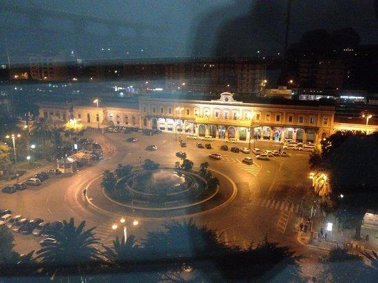Grand Hotel Leon d'Oro: Panorama notturno dalla stanza